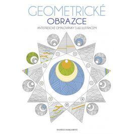 Margarová Daniele: Geometrické obrazce - Antistresové omalovánky s 60 ilustracemi
