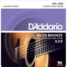 Daddario EJ13 Kovové struny pro akustickou kytaru