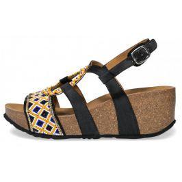 Desigual dámské sandály Bio9 Anissa Beads 38 černá