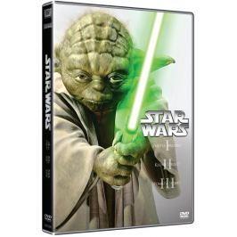 STAR WARS: Prequel trilogie, epizody I, II, III (3DVD)   - DVD