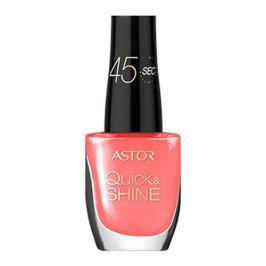 Astor Lak na nehty Quick & SHINE 8 ml (Odstín 203 Into the Sunset)