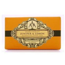 Somerset Toiletry Luxusní detoxikační mýdlo Jalovec a citrón (Detoxifying Luxury Soap) 200 g