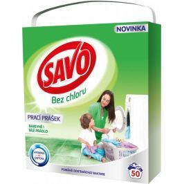 Savo Prací prášek na bílé a barevné prádlo 3,5 kg (50 praní)