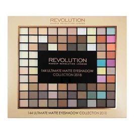 Makeup Revolution Paletka 144 matných očních stínů (Ultimate Matte Eye Shadow Collection 2018) 116 g