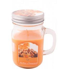 New Garden s.r.o. Svíce vonná v soudku skořice a pomeranč 80 g