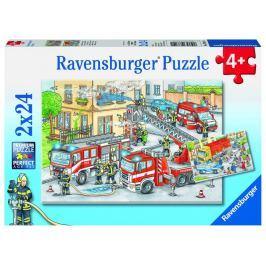 Ravensburger Hasiči 2x24 dílků