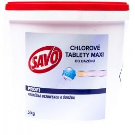 Savo Do Bazénu - Maxi tablety chlorové 5 kg