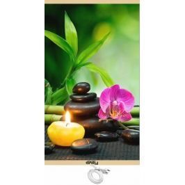 Unity Energeticky úsporný topný infrapanel - orchidej - rozbaleno