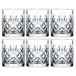RCR Crystal Melodia sklenice na whisky 230 ml, 6 ks - rozbaleno