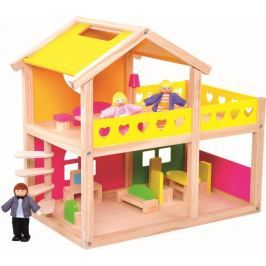 Bino Domeček pro panenky - rozbaleno
