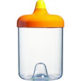 Viceversa Stohovatelná plastová dóza 1L oranžová s víčkem