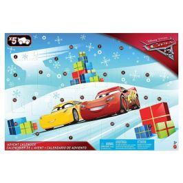 Mattel Adventní kalendář Cars 3