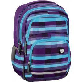 Hama Školní batoh All Out Blaby, Summer Check Purple