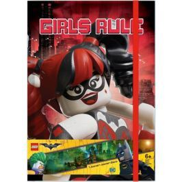 LEGO Batman Movie Zápisník - Harley Quinn/Batgirl