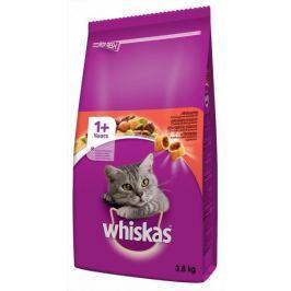 Whiskas granule s hovězím masem 3,8 kg