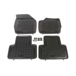 REZAW-PLAST Gumové koberce, černé, sada 4 ks (2x přední, 2x zadní), Volvo XC90 2002-2014