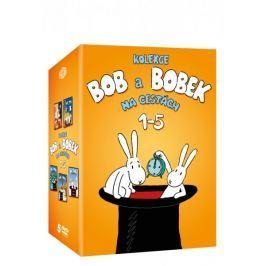 Kolekce: Bob a Bobek na cestách 1-5 (5DVD)   - DVD