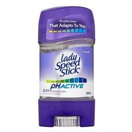 Lady Speed Stick Svěží gelový antiperspirant pH Active (Fresh 24H Protection Antiperspirant) 65 g