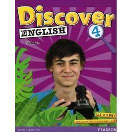 Serzysko Cezary, Sekulski Birgit, Drabic: Discover English 4 - Učebnice - CZ Edition
