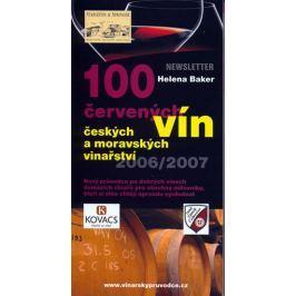 Baker Helena: 100 červených vín českých a moravských vinařství
