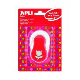 Děrovačka APLI na pěnovku tulipán