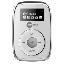 MP Man CLIPSY / 2 GB, stříbrná