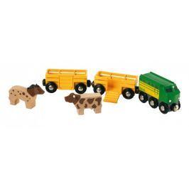 Brio WORLD 33404 Farmářský vlak