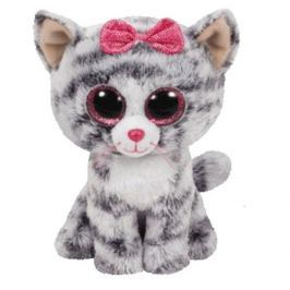 TY KIKI - šedá kočka 42 cm