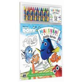 Dory - Malování podle barev Naučná literatura do 10 let