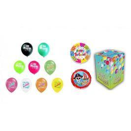 Helium sada NAROZENINOVÁ PÁRTY VELKÁ + 20 latexových a fóliových balónků