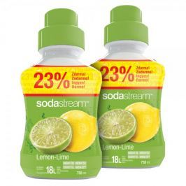 Sodastream Příchuť Lemon Lime 2x 750 ml