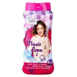 EP Line Pěna do koupele a sprchový gel Disney Violetta 475 ml