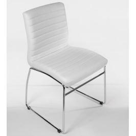 BHM Germany Jednací / jídelní židle Linda (SET 2 ks), bílá
