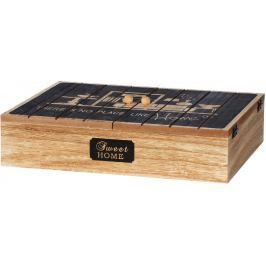 Time Life Krabička na čaj 12 přihrádek