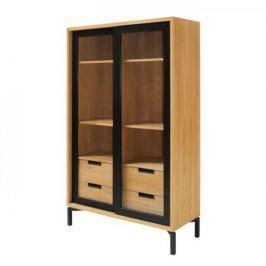 Danish Style Vitrina / prosklená skříň Rooms, 160 cm