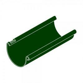 LanitPlast Okapový žlab RG 100 půlkulatý zelená barva 3 m