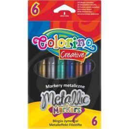 Popisovač metalický 6 barev Colorino