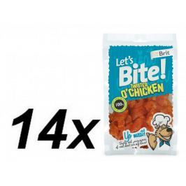 Brit Lets Bite Twister o'Chicken 14x80 g