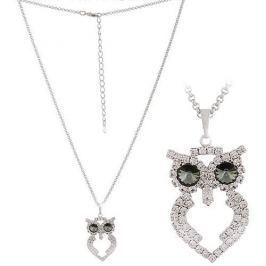MHM Štrasový náhrdelník Sova 31222