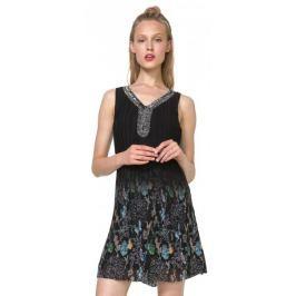 Desigual dámské šaty Sophia 36 černá