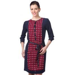 Nautica dámské šaty s 3/4 rukávem XS červená Doplňky do domácnosti