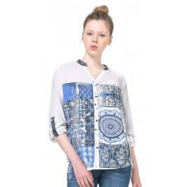 Desigual dámská košile Gemma M bílá Doplňky do domácnosti