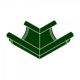 LanitPlast Roh vnější RG 125 půlkulatý zelená barva Žlaby