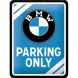 Postershop Plechová cedule 15x20 cm BMW Parking Only (modrá) Dárkové předměty