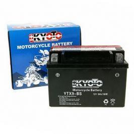 Baterie KYOTO 12V 8Ah YTX9-BS (dodáváno s kyselinovou náplní) Baterie, nabíječky pro motorku