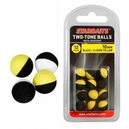 Starbaits Plovoucí kuličky  Two Tones Balls černá/bílá, 10 mm Umělé nástrahy
