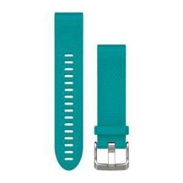 Garmin náhradní řemínek pro Fenix 5S QuickFit™ 20, tyrkysový Fitness náramky