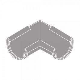LanitPlast Roh vnitřní RG 150 půlkulatý šedá barva