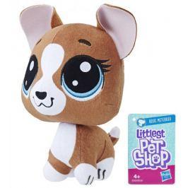 Littlest Pet Shop Plyšák s pohyblivou hlavou - Roxie Mcterrier