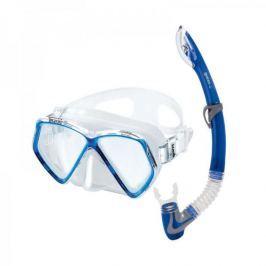 Mares Sada PIRATE (dětská maska + šnorchl), Mares, trans./modrá